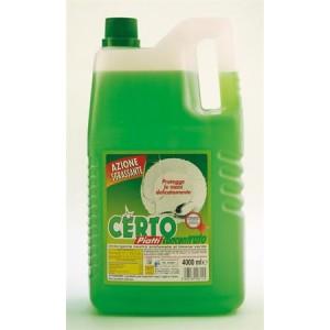 Detergente manuale per piatti al limone da lt 4
