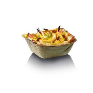 Vaschetta quadrata palma 7x7 cm