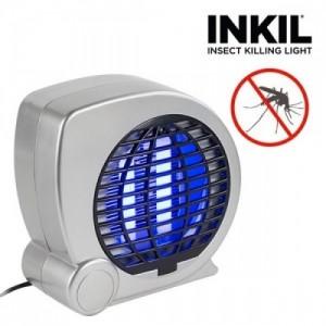 Lampada zanzariera elettrica con luce UV per mosche e zanzare