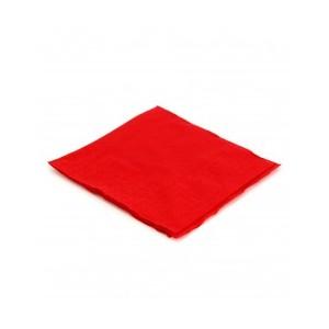 Tovagliolo rosso in cellulosa