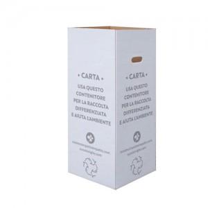 Cartone per la raccolta differenziata. CARTA