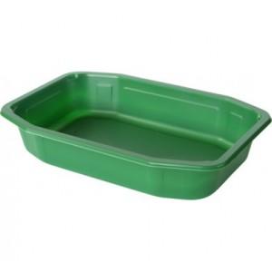 Vaschetta  verde  microondabile