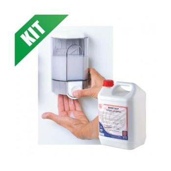 PROMO Kit detergente mani + dosatore
