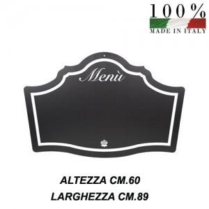 Lavagna menu bar ristorante sagoma specchio