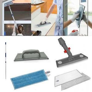 Brilliant Plus kit attrezzi microfibra per vetri specchi acciaio e legno