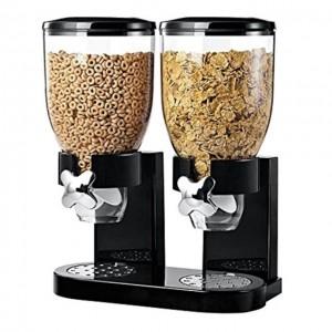 Dispenser doppio di cereali