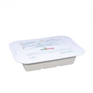 Contenitore biodegradabile per alimenti certificato 4-5 porzioni