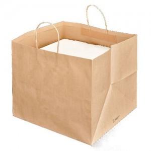 Shoppers porta scatole pizza cm 36+31,5x36 cm Avana