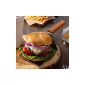 Spatola servi hamburger
