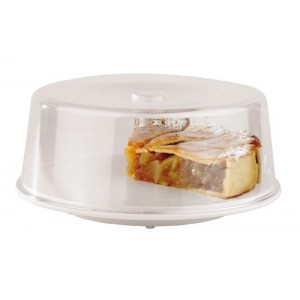 Piatto torta con coperchio