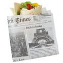 Carta antigrasso giornale