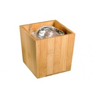 Portarifiuti da tavolo in bambù