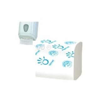 kit carta igienica interfogliata + distributore