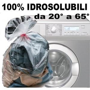 SACCO LAVANDERIA 60X80 IDROSOLUBILE BIODEGRADABILE CARICO BUCATO KG.11