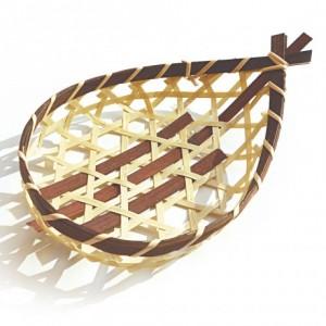 Barca in bambù