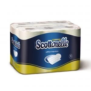 Carta Igienica Scottonelle®. Soffice e trapuntata