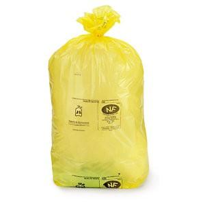 Sacco rifiuti giallo 90x 120 cm - capacità 110 litri
