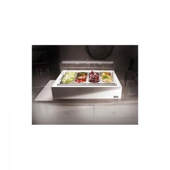 Porta verdure refrigerato bianco