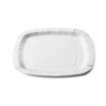 Piatto Bianco quadrato 23x23 cm