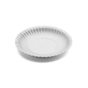 Piatto piano Bianco 18 cm