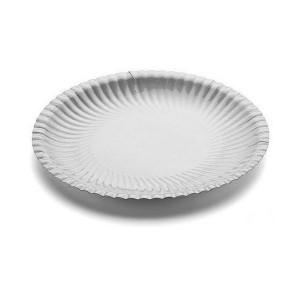 Piatto piano Bianco 23 cm