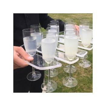 Vassoio da Champagne per 12 bicchieri