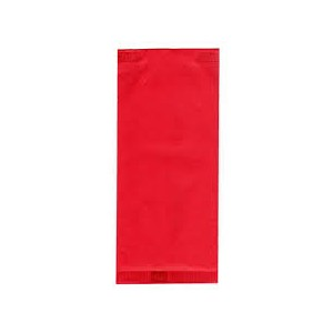 Busta portaposate color rosso