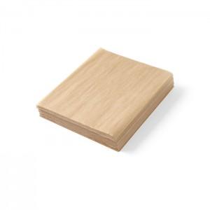 Fogli per alimenti in carta oleata marrone cm 25x20