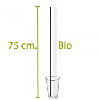 Cannucce biodegradabili MAXI