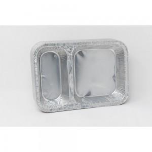 Contenitore in alluminio per alimenti scomparti