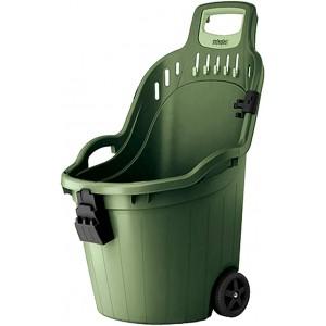 Cesto raccolta rifiuti con ruote