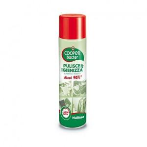 Spray disinfettante multiuso in flacone spray da 300ml.