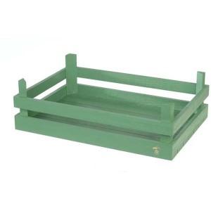 Cassette in legno verde
