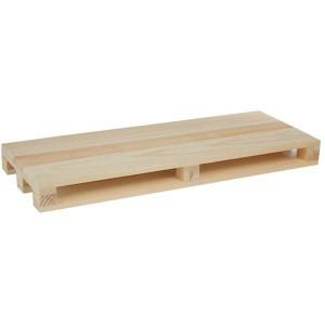 Minipallet in legno naturale