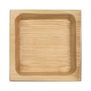 Piattino quadro bambu