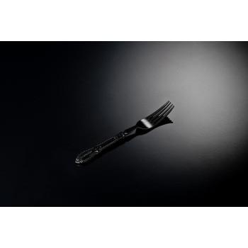 Mini forchettina elegance nera